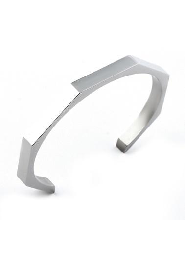 Welch Steel Erkek Çelik Bileklik Beyaz